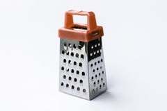 Metal grater isolated on white background Royalty Free Stock Photos
