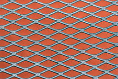 Metal grating background Stock Photography
