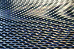 Metal Grating Pattern Royalty Free Stock Image