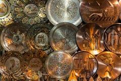 Metal gravado egípcio Imagem de Stock