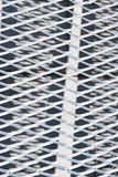 Metal grid. Pattern of metal grid as a background Royalty Free Stock Photos