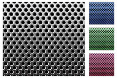 Metal grid. Royalty Free Stock Images