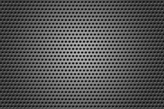 Metal Grid. Circles gray texture stock image