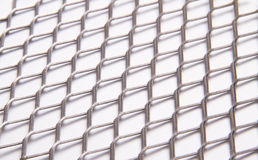 Metal grid 2 Stock Photo