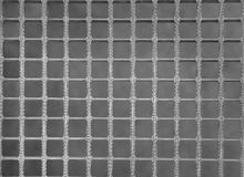 Metal grid Royalty Free Stock Photos