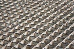 Metal grid Stock Images