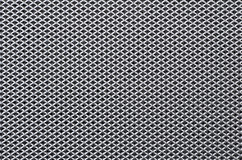 Metal grid. Aluminum grid with thin mesh inside Stock Photos