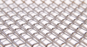 Metal grid 3 Royalty Free Stock Photo