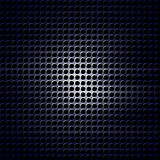 Metal grid. With some holes in it Royalty Free Stock Photos
