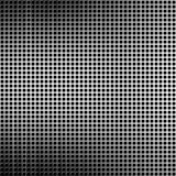 Metal grid. With some reflected light on it Royalty Free Stock Photography