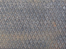 Metal grid. From a manhole cover royalty free stock photos