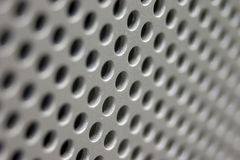 Metal Grid Stock Photo