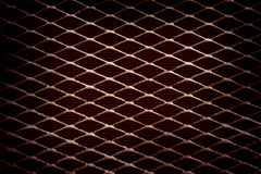 Metal grid Stock Image