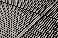Metal grid backgound Royalty Free Stock Photo