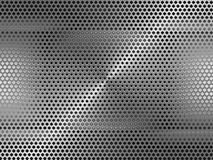 Metal grid background Royalty Free Stock Photography