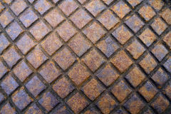 Metal grid background Stock Image
