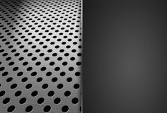 Metal grid background. Stock Photo