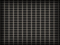 Metal grid backgrounds with many holed Royalty Free Stock Photos