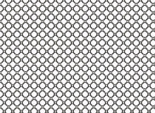 Metal grid backgrounds with round cell Royalty Free Stock Image