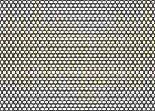Metal grid backgrounds with round cell Royalty Free Stock Photo