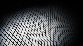 Metal Grid Bkg 1 stock footage