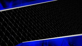 Metal Grid Bkg 3 stock footage