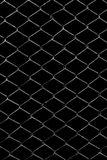 Metal grid on a black background.  stock photos