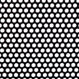 Metal Grid circles gray texture Royalty Free Stock Photos
