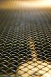 Metal grid coffee roasted machine Stock Image