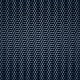 Metal grid. Fine regular metallic mesh illustration Stock Images