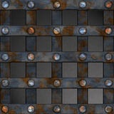 Metal Grid Royalty Free Stock Photo