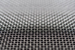 Metal grid macro Stock Image