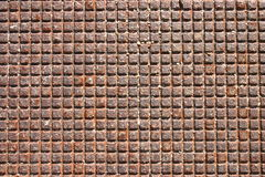 Metal grid from a manhole cover. A metal grid from a manhole cover Stock Images