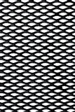Metal grid over white background Royalty Free Stock Photo