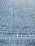 Metal grid pattern Royalty Free Stock Images
