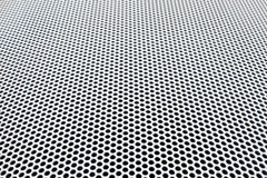 Metal grid perspective royalty free stock images