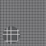 Metal grid of pipes. Vector grid Stock Images
