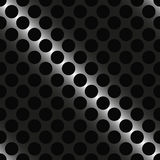 Metal grid with round holes Royalty Free Stock Image