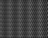 Metal grid seamless pattern. Royalty Free Stock Photo
