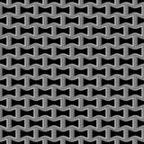 Metal grid seamless pattern Stock Photography