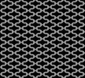 Metal grid seamless pattern Stock Photos