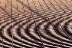 Metal grid. Royalty Free Stock Photo