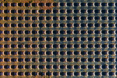 Metal grid texture Royalty Free Stock Photography