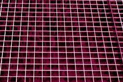 Metal grid texture in pink tone. Abstract background and texture for design Stock Photo