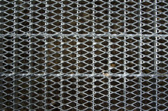 Metal grid walkway Stock Photography