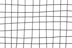 Metal grid on white background Royalty Free Stock Photography