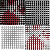 Metal grids Stock Photos