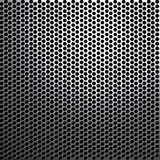 Metal grill. High resolution metal mesh grill. Uneven diffuse lighting version. Design component Royalty Free Stock Photos