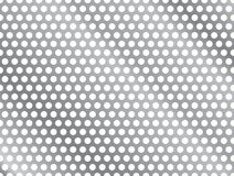 Metal Grill. Metallic Seamless Grill with Gradient Vector Illustration