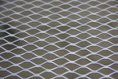 Metal Grill Stockbild